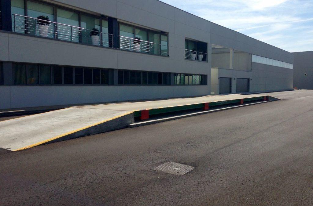 Nueva báscula para camiones de Hispano Europea en Patatas Hijolusa