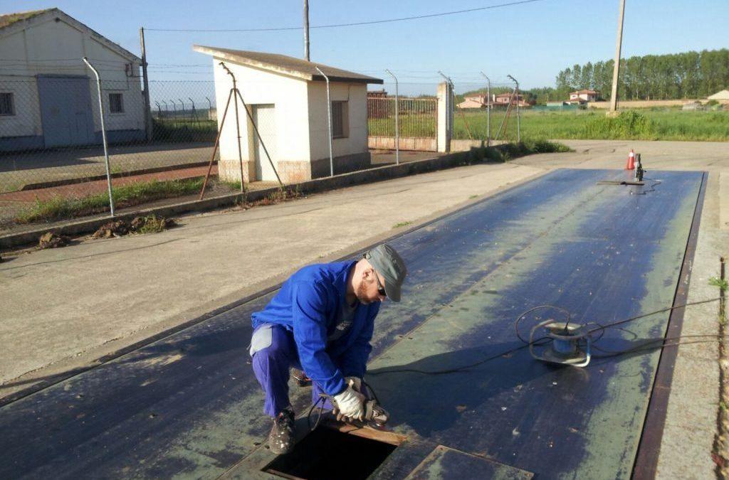 Mantenimiento de Báscula en Ribas de Campos, Palencia